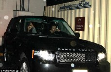 Harry & Kendall in Range Rover