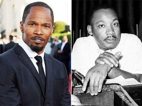 Jamie Foxx Martin Luther King