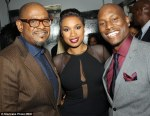 Jennifer Hudson, Forest Whitaker and Tyrese