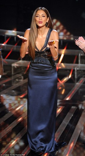 Nicole Scherzinger Dress