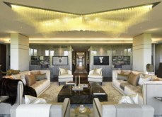 One of the Living Rooms, Knightsbridge Apartment