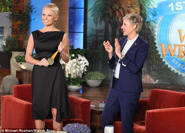 Pamela Anderson Ellen
