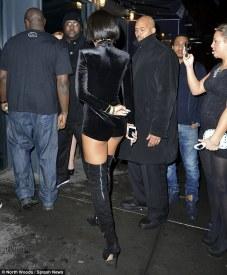 Rihanna Playsuit Back