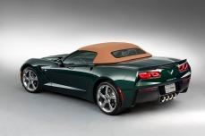 2014 Corvette Stingray Premiere Edition Convertible back view