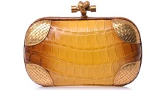 Degradé crocodile box clutch, £5,385, by Bottega Veneta