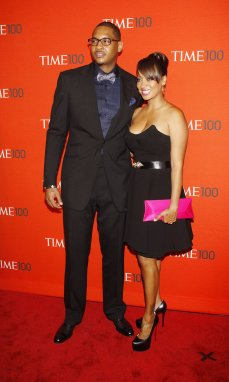 "Carmelo asked La La to marry him on Christmas Day 2004, it wasn't until summer 2010 that the couple finally became man and wife. Despite rumors that Carmelo had cold feet, the New York Knick says they were just doing their own thing. ""I wasn't making her wait. If anything, I was waiting for her to slow down,"" he told Latina magazine in 2010. ""She was doing her own thing, handling her business, and we were happy. When it was time to take it to the next step, we did. Period."""