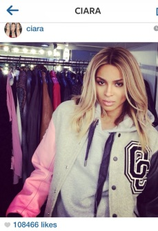 Does Ciara look pregnant