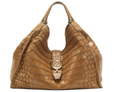 Soft stirrup crocodile shoulder bag, £21,440 by Gucci
