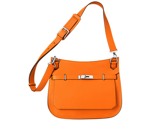 Jypsiere 28 in Orange Taurillon, £4,420 by Hermes
