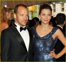 Longtime couple Maggie Gyllenhaal and Peter Sarsgaard made it official in Italy in May 2009 after a three-year-long engagement. The couple first announced their pregnancy and engagement to People in 2006 after being together for more than four years.