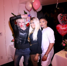Nicki and friends