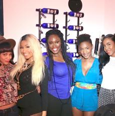 Nicki Minaj and friends