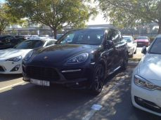 One of the Cheaper Cars, Porche Cayenne