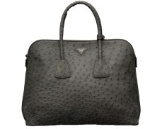 Ostrich leather tote, £6,100 by Prada