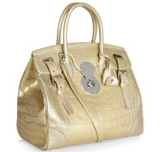Alligator Ricky Bag, £17,145 by Ralph Lauren