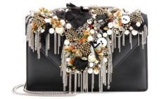 Betty Borsa Mini embellished leather shoulder bag. £4,250 by Saint Laurent