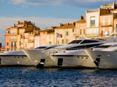 Yachts in St tropez