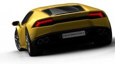Lamborghini - Yellow back