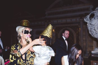 Beyonce and Blue Ivy on NYE