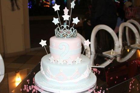 Blue vy Birthday cake