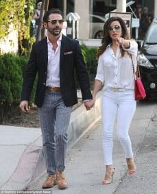 Eva Longoria and new boyfriend