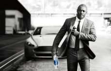 Idris Elba water ad