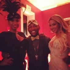 Jennifer-Hudson-Guest-Beyonce-at-Tina-Knowles-Birthday-Party-Masquerade-Ball