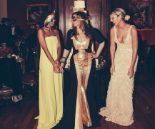 Solange, Tina and Beyonce share a laugh