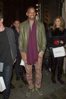 Will Smith wears some interesting trousers