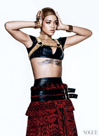 Rihanna vogue 1