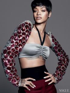 Rihanna vogue 4