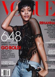 Rihanna vogue 6
